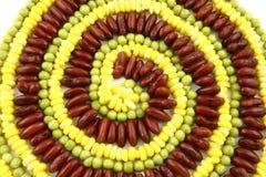 Espiral vegetariano Foto de archivo libre de regalías