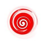 Espiral vermelha Fotografia de Stock Royalty Free