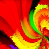 Espiral vermelha Imagens de Stock Royalty Free