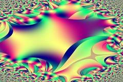 Espirales únicos multicolores Fotografía de archivo libre de regalías