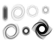 Espirales Imagenes de archivo