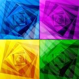 Espirales abstractos de la textura Imagen de archivo libre de regalías
