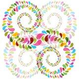 Espirales coloridos de las burbujas Imagen de archivo libre de regalías