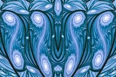 Espirales de la fantasía ilustración del vector