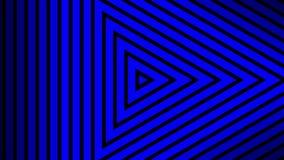 Espirales de torneado hipnóticos, fondo de la animación stock de ilustración
