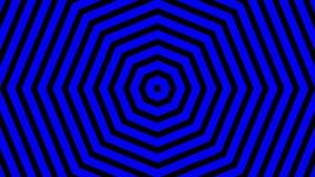Espirales de torneado hipnóticos, fondo de la animación ilustración del vector