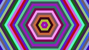 Espirales de torneado hipnóticos, fondo de la animación