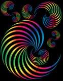 Espirales del espectro Foto de archivo