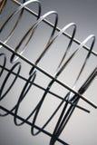 Espirales del metal Fotografía de archivo