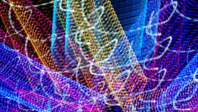 Espirales felices coloridos abstractos Fotos de archivo libres de regalías