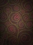 Espirales florales apenados Foto de archivo libre de regalías