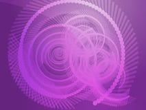 Espirales geométricos stock de ilustración