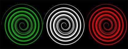 Espirales italianos Foto de archivo