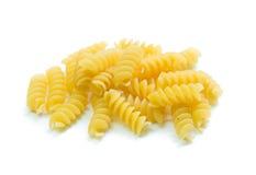 Espirales italianos de las pastas Fotografía de archivo