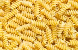 Espirales italianos de las pastas Imagenes de archivo