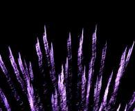 Espirales púrpuras imágenes de archivo libres de regalías