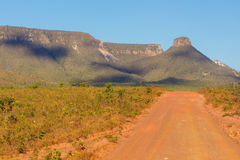 Espirito Santo Ridge in Jalapão State Park, Tocantins, Brazil. Stock Photography