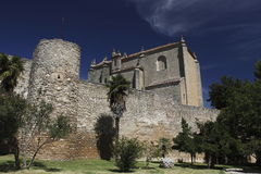 Espiritu Santo church in Ronda Royalty Free Stock Images