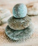 Espiritualidad y aclaración con los ZENES Stone Fotos de archivo