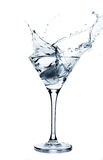 Espirrando martini Fotografia de Stock Royalty Free