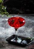 Espirre a fotografia do cocktail Barra cocktails ?lcool vodka Partido Foto do movimento fotos de stock royalty free