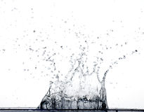 Espirro da água Foto de Stock