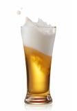 Espirro da cerveja Fotos de Stock Royalty Free