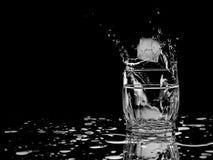 Espirro de vidro do gelo Imagens de Stock Royalty Free