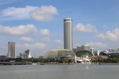 Esplanada de Singapura Foto de Stock Royalty Free
