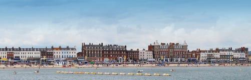 Esplanada de Weymouth Fotografia de Stock Royalty Free