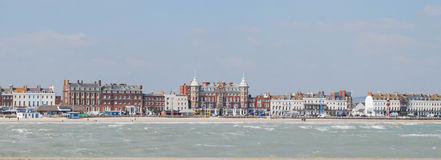 Esplanada de Weymouth Foto de Stock
