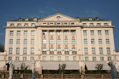 esplanada hotel Zagreb zdjęcie stock