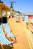 Esplanada, Shanklin, wyspa Wight. Obraz Royalty Free