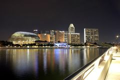 Esplanade – Theatres on the Bay, Singapore stock photography