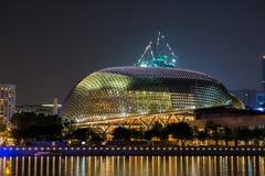 Esplanade αίθουσα συναυλιών σε Σινγκαπούρη Στοκ Εικόνα