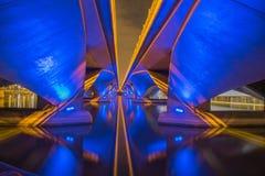 Esplanade γέφυρα, Σινγκαπούρη Στοκ φωτογραφίες με δικαίωμα ελεύθερης χρήσης