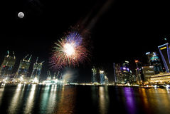 esplanade εργασία Σινγκαπούρης π& στοκ εικόνες με δικαίωμα ελεύθερης χρήσης