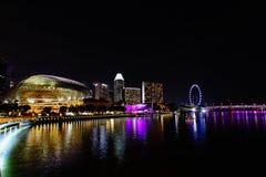 esplanade Σινγκαπούρη Στοκ Φωτογραφίες