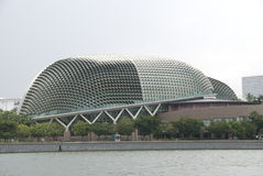 esplanade συναυλίας αίθουσα Σινγκαπούρη Στοκ Εικόνες