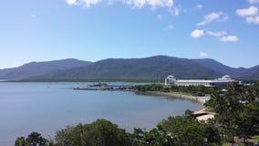 Esplanade τύμβων, βόρειο Queensland Στοκ εικόνα με δικαίωμα ελεύθερης χρήσης