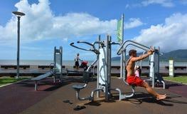 Esplanade τύμβων στο Queensland Αυστραλία Στοκ φωτογραφία με δικαίωμα ελεύθερης χρήσης