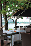 esplanade кафа Стоковое Изображение