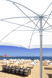 esplanade пляжа Стоковое Фото