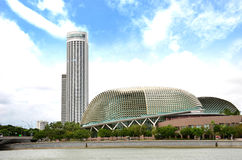Esplanade. Singapore ( Theatres on the Bay Royalty Free Stock Photography