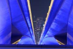 Esplanade-Antrieb in Singapur Stockbilder