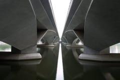 Esplanade-Brücke Stockbild
