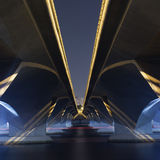 Esplanade Bridge Royalty Free Stock Photo
