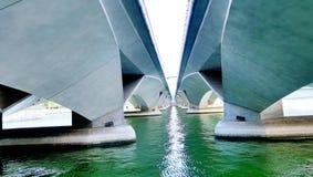 Esplanade bridge, Singapore. Esplanade bridge, one of Singapore landmark near Merlion Royalty Free Stock Images