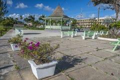 Esplanade Bridgetown Barbade Photographie stock libre de droits