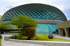 Esplanade concert hall. In Singapore Stock Photos